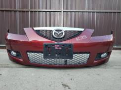 Бампер передний Mazda 3/ Axela седан 03-09г