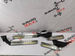 Накладки порога Subaru Legacy B4 (BE) III рестайлинг (2001–2003) [94061AE010ML], левый/правый передний/задний