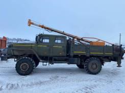 Стройдормаш БКМ-515А. Бурильная машина БКМ-515А на шасси Урал сварочный пост