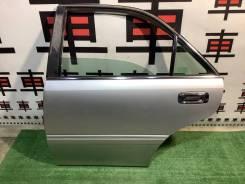 Дверь задняя левая Toyota Crown JZS171 цвет 1C0 #11555