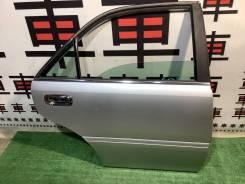 Дверь задняя правая Toyota Crown JZS171 цвет 1C0 #11555