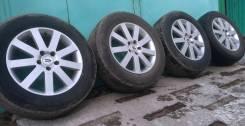 Летние колеса Honda R17 5x114,3 резина Bridgestone 225/65