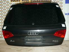Дверь багажника Ауди A4 А4 B8 Б8 Серый перламутр