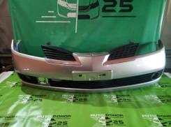 Бампер передний Nissan Primera QP12 2003г краска КХ6