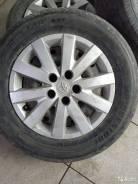 16 Колеса на штамповке Bridgestone с колпаками
