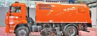 КамАЗ 53605. KRS 60 на шасси Камаз-53605 вакуумная подметально-уборочная (пылесос)