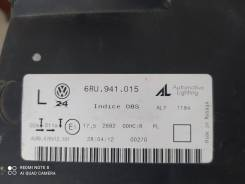 Фара левая WV Polo 6RU941015