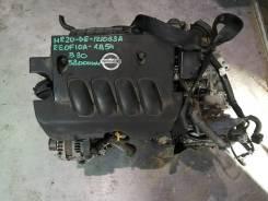 ДВС с КПП, Nissan MR20-DE - CVT RE0F10A GB54 FF B30 58 000 km коса+ком