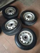 Продам комплект колёс 155/80R13 на штамповке