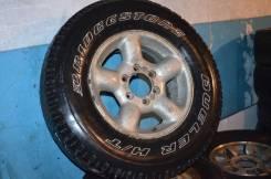 Bridgestone Duler H/T 265/70/16 на диске Isuzu 7JJ16
