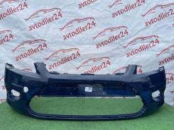 Ford Focus 2 рестайлинг бампер передний темно синий