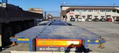 Meusburger Новтрак SW-345G. Полуприцеп контейнеровоз, 38 000кг.