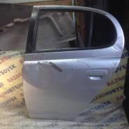 Дверь задняя левая Toyota Platz NCP12, 1NZFE