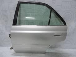 Дверь задняя (левая) Toyota Carina AT211, 7A-FE Цвет: 1С0