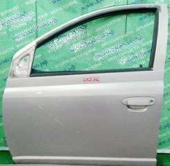 Дверь боковая Toyota Platz Vitz P1# передняя левая
