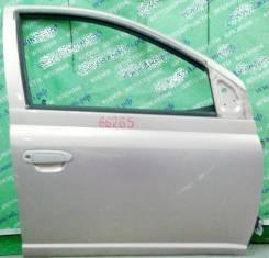 Дверь боковая Toyota Platz Vitz P1# передняя правая