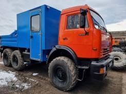 КамАЗ. Камаз грузопассажирский гпа с кму, 7 000кг., 6x6