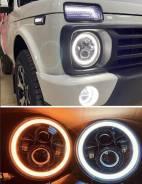 Фара. Nissan Patrol, Y60 Mercedes-Benz G-Class Toyota FJ Cruiser Suzuki Jimny Mitsubishi Pajero Mitsubishi Jeep Land Rover Defender Jeep Wrangler Ssan...