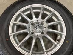 Weds joker R14 4*100 5.5j et50 + 185/70R14 Dunlop Enasave ec204 Japan