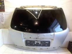 Дверь багажника в сборе со стеклом б. у оригинал идеальная серебристая [95441006] для Opel Antara [арт. 523718] 95441006