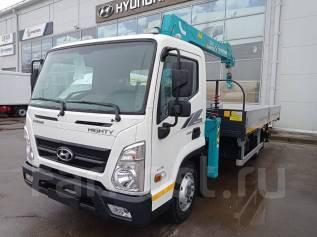 Hyundai Mighty. Hyundai Myghty EX 9 с манипулятором, 3 907куб. см., 4x2. Под заказ