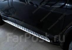 Подножка. Nissan X-Trail, HNT32, HT32, NHT32, NT32, T32 MR20DD, QR25DE, R9M. Под заказ