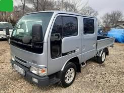 Nissan Atlas. 4WD, двухкабинный бортовой, 2 700куб. см., 1 500кг., 4x4