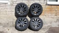 Продам колёса (литье, шины) 185/65R15 4x100, лето