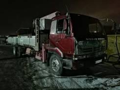 Nissan Diesel. 10 т 1994 г. в. Кранборт, 17 000куб. см., 12 000кг., 6x2