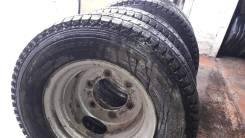 Комплект задних колес от Toyota Dyna(диски+резина)