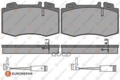 Колодки Тормозные Дисковые Mercedes-Benz C-Class (W203) C 180 Kompressor (203.046) 00 Eurorepar арт. 1623060980 1623060980