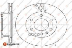 Диск Тормозной Mercedes-Benz Sprinter 3.5-T 06 Eurorepar арт. 1642767480 1642767480