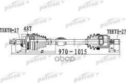 Полуось Передний Мост Справа 27x970x62x27 Abs48t Hyundai Sonata / I45 [Gf] 09 - Kia Optima [Tf] 10 Patron арт. PDS0506, правая