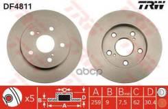Диск Тормозной Toyota Auris/Corolla 07- Задн. TRW арт. DF4811