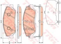 Колодки Тормозные Дисковые TRW арт. GDB3418 GDB3418