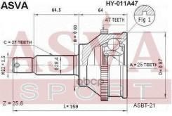 Шрус Наружный ASVA арт. HY-011A47 HY011A47