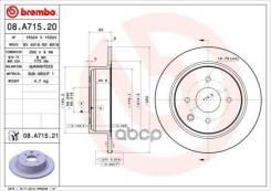 Диск Тормозной Nissan Tiida/Cube 04-/10- Задн.292мм. Brembo арт. 08A71521