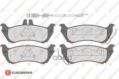 Колодки Тормозные Дисковые Mercedes W163 Ml 230-430 98 Eurorepar арт. 1623061380 1623061380