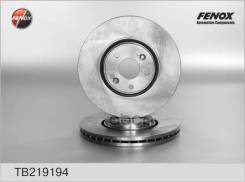 Диск Тормозной Передний! Renault Laguna 2.0-3.0/2.0dci-2.2dci 01-07 Fenox арт. TB219194 Tb219194_
