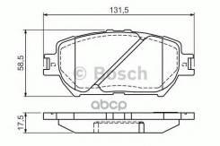 Колодки Дисковые Передние Bosch арт. 0986494363