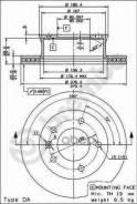 Диск Тормозной Mb/Vw Sprinter/Lt -06 Перед. Вент. Brembo арт. 09731414