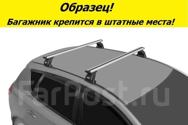 Багажник на крышу Ford Focus 2 2004-2011г. Хэтчбек! (перекладины Крыло 1,2 метра)