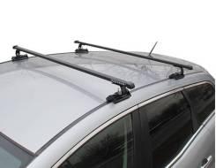 Багажник на крышу Ford Focus 2 2004-2011г. Хэтчбек=Седан=Универсал (Креп.С15, перекладины Квадрат 1,2 метра)