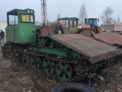 ОТЗ ТДТ-55. Трелевочный трактор ТДТ55