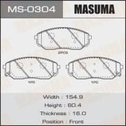 Колодки дисковые Masuma, AN-8034WK, NP6053, P30019 front (1/12) Masuma [MS0304], передний