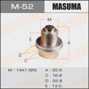 Болт маслосливной С Магнитом Masuma (с шайбой) Mitsubishi 14x1.5mm Masuma M-52