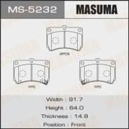 Колодки дисковые Masuma, AN-298WK, NP5010, P49016 front (1/12) Masuma MS-5232, передний