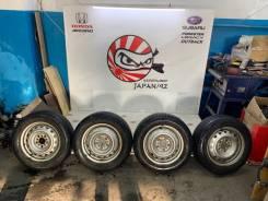 """Комплект колес (диски штамп R15 + резина """"липучка"""" Bridgestone 195x65)"""