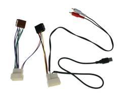Переходник для KIA, Hyundai 2010 - (в комплектации с USB, AUX) ISO-