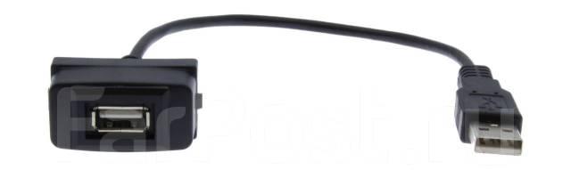 Разъем в штатную заглушку для Mitsubishi USB